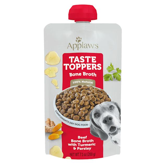 Applaws Taste Toppers Beef Bone Broth Wet Dog Food, 7.1 oz. - Carousel image #1