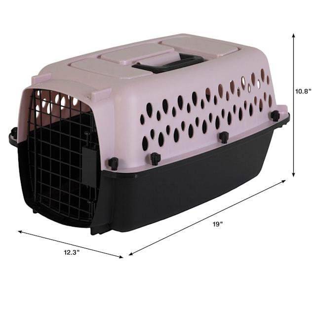 "Petmate Blue Vari Fashion Dog Kennel, 19"" L X 12.3"" W X 10.8"" H - Carousel image #1"