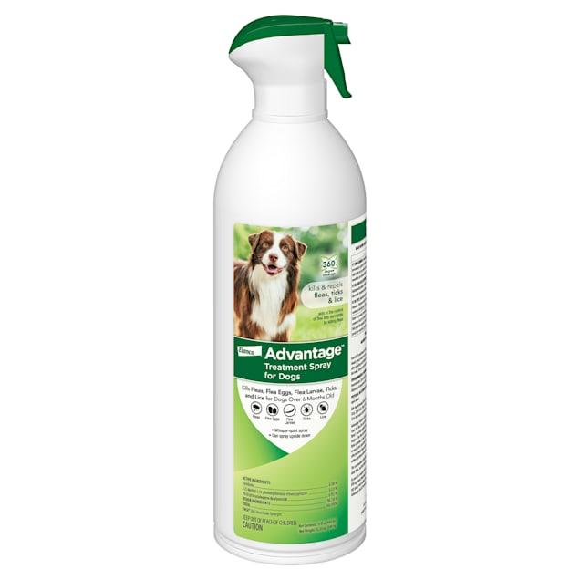 Advantage Flea & Tick Treatment Spray for Dogs, 15 fl. oz. - Carousel image #1