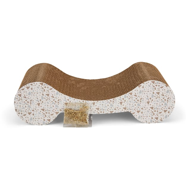 """EveryYay Scratchin' the Surface Cardboard Lounger Cat Scratcher in Various Styles, 17.75"""" L X 7.75"""" W X 5.12"""" H - Carousel image #1"""