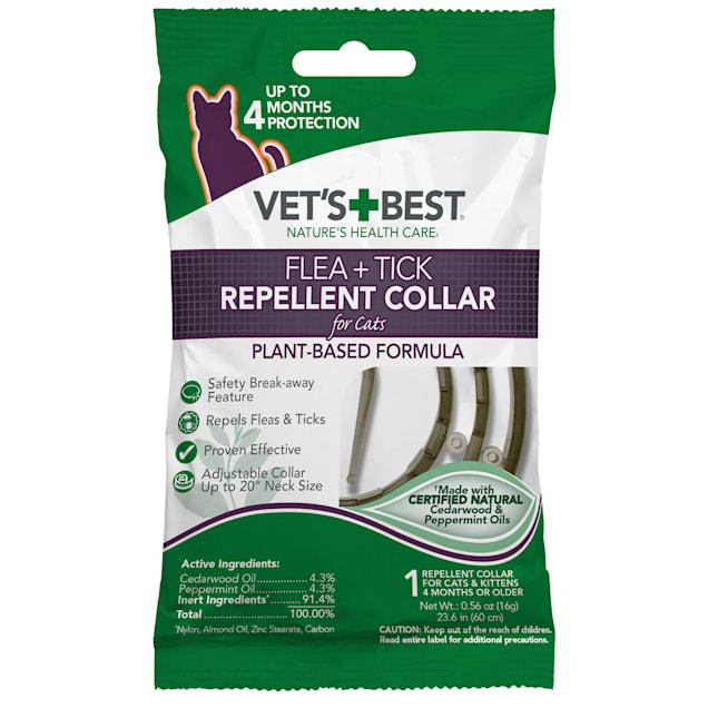 Vet's Best Flea & Tick Repellent Collar for Cats - Carousel image #1
