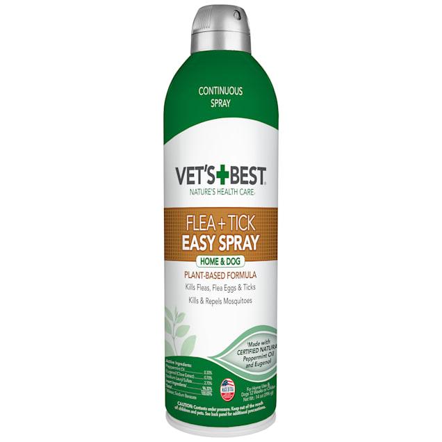 Vet's Best Flea & Tick Easy Spray for Home and Dog, 14 fl. oz. - Carousel image #1