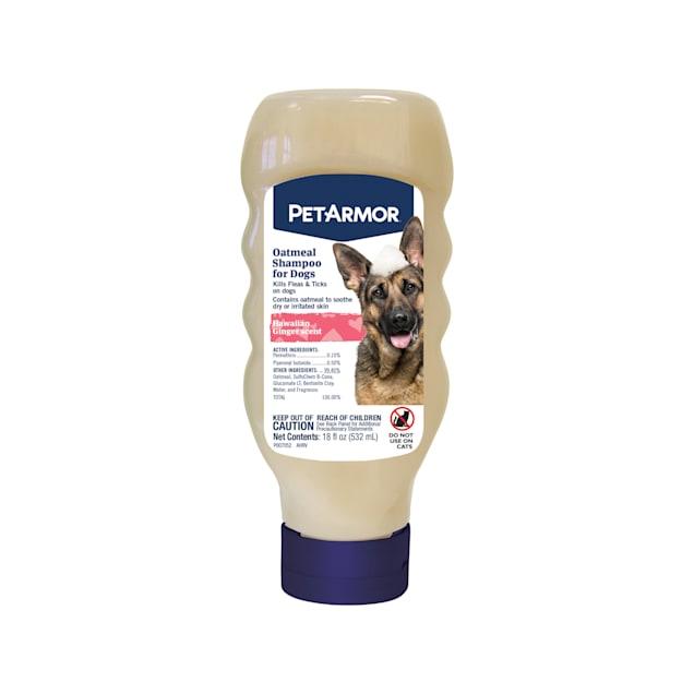 PetArmor Hawaiian Ginger Scent Oatmeal Shampoo for Dogs, 18 fl. oz. - Carousel image #1