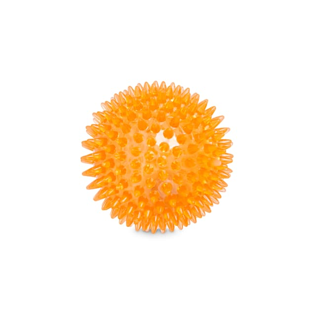 Leaps & Bounds Light-Up Spiny Ball Dog Chew Toy, Small - Carousel image #1