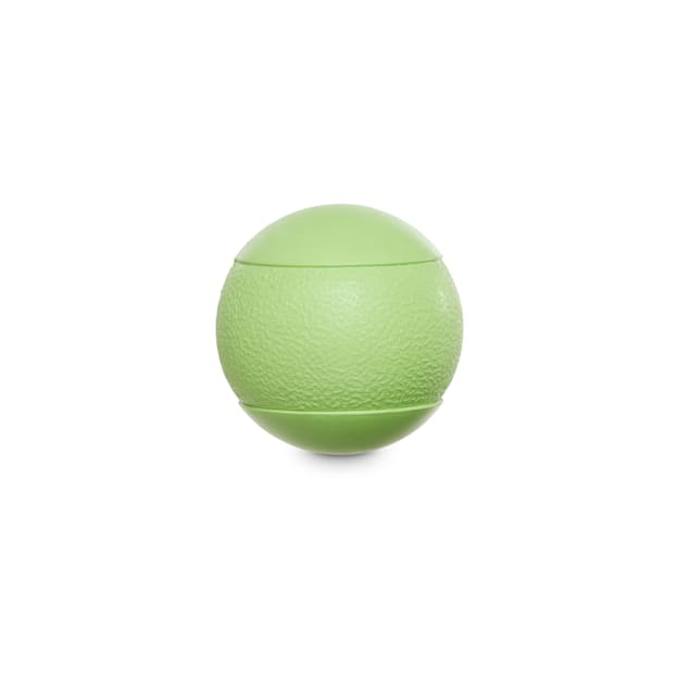 Leaps & Bounds Rubber-Like Material Squeak Ball Dog Toy, Small - Carousel image #1