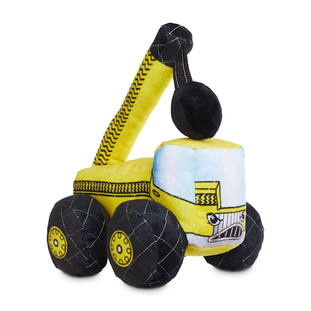 Leaps & Bounds Ruffest & Tuffest Crane Tough Plush Dog Toy with Kevlar Stitching, Large - Carousel image #1
