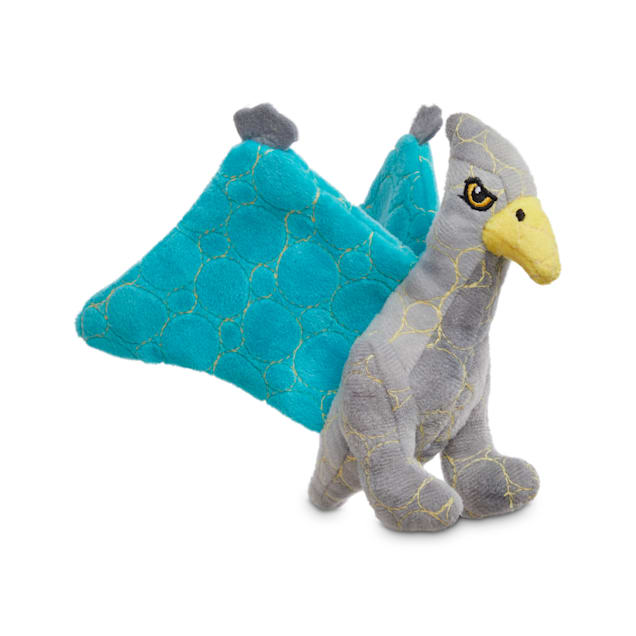 Leaps & Bounds Ruffest & Tuffest Pterodactyl Tough Plush Dog Toy with Kevlar Stitching, Small - Carousel image #1