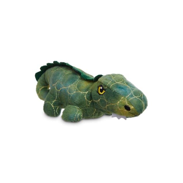 Leaps & Bounds Ruffest & Tuffest Gator Tough Plush Dog Toy with Kevlar Stitching, Small - Carousel image #1