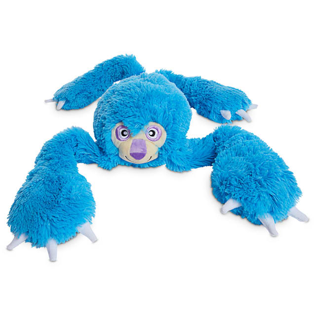 Leaps & Bounds Super Sloth Plush Dog Toy with Long Limbs, XX-Large - Carousel image #1