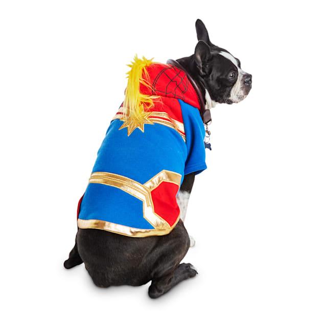 Bootique Captain Marvel Dog Costume, Large - Carousel image #1