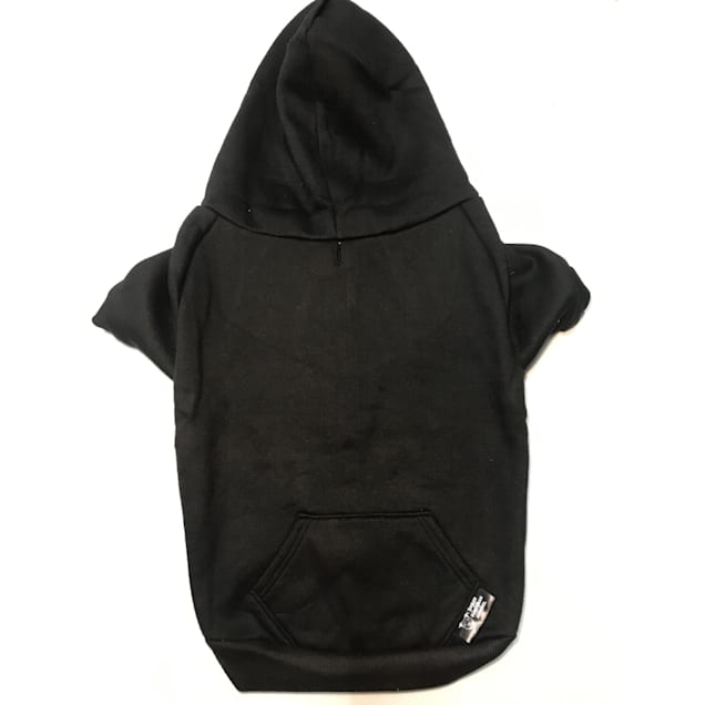 Urban Suburban Apparel Black Dog Zip-Up Hoody, Small - Carousel image #1