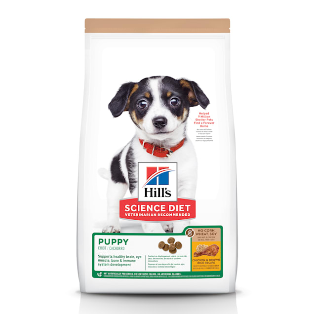 Hill's Science Diet No Corn, Wheat or Soy Chicken Dry Puppy Food, 12.5 lbs., Bag - Carousel image #1