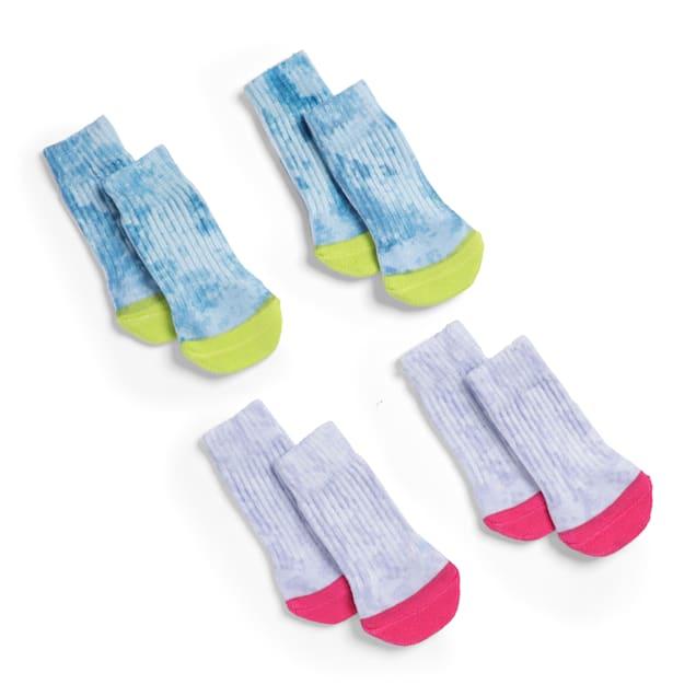 YOULY The Wanderer Tie-Dye Dog Socks, Large/X-Large - Carousel image #1
