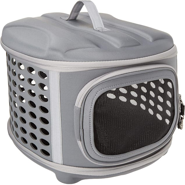 "Pet Magasin Hard Cover Collapsible Pet Carrier, 17"" L X 14"" W X 13"" H - Carousel image #1"