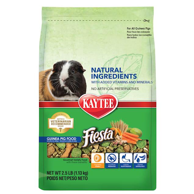 Kaytee Fiesta Naturals Guinea Pig Food, 2.5 lbs - Carousel image #1