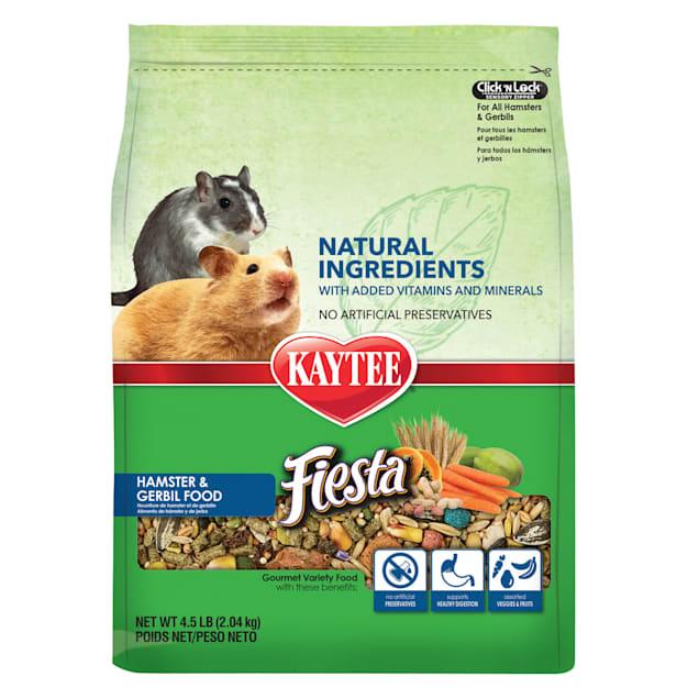 Kaytee Fiesta Naturals Hamster and Gerbil Food, 4.5 lbs. - Carousel image #1