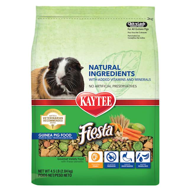 Kaytee Fiesta Naturals Guinea Pig Food, 4.5 lbs. - Carousel image #1
