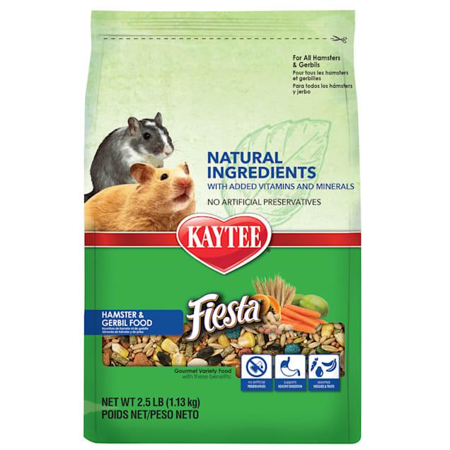 Kaytee Fiesta Naturals Hamster and Gerbil Food, 2.5 lbs. - Carousel image #1