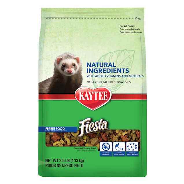 Kaytee Fiesta Natural Ferret Food, 2.5 lbs. - Carousel image #1