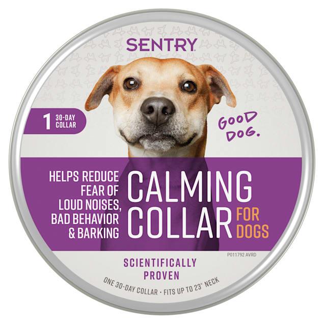 Sentry Lavender Chamomile Fragrance Calming Dog Collar - Carousel image #1