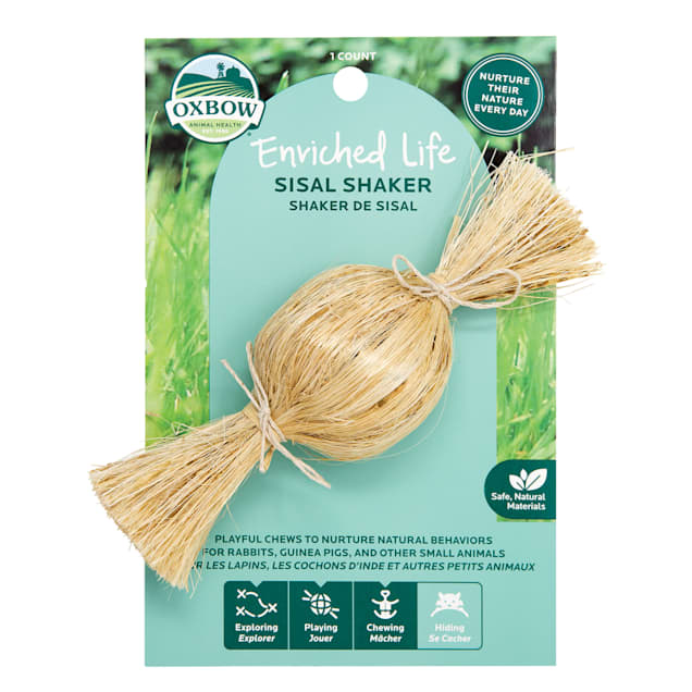 Oxbow Enriched Life Sisal Shaker for Small Animals - Carousel image #1