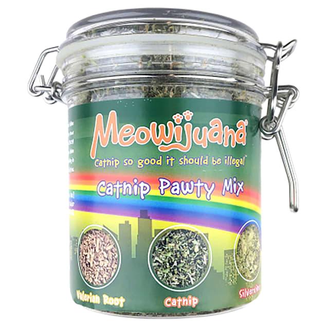 Meowijuana Catnip Pawty Mix for Cats - Carousel image #1