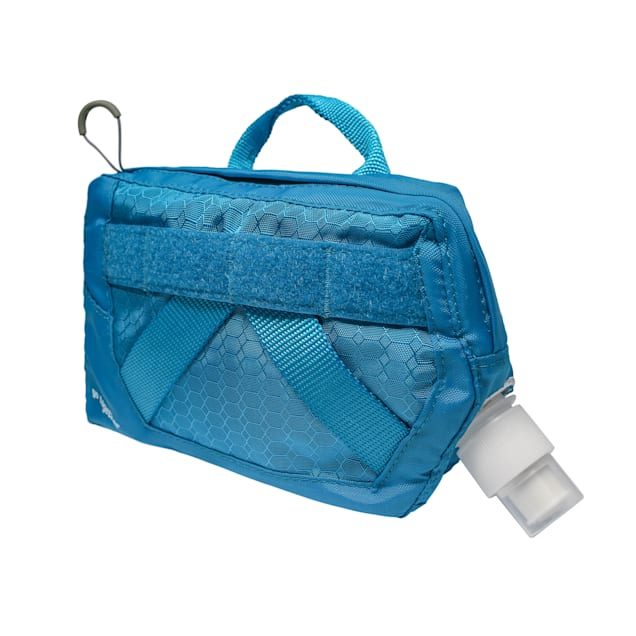 Kurgo Hydration Flask Blue Water Pouch for Dogs - Carousel image #1