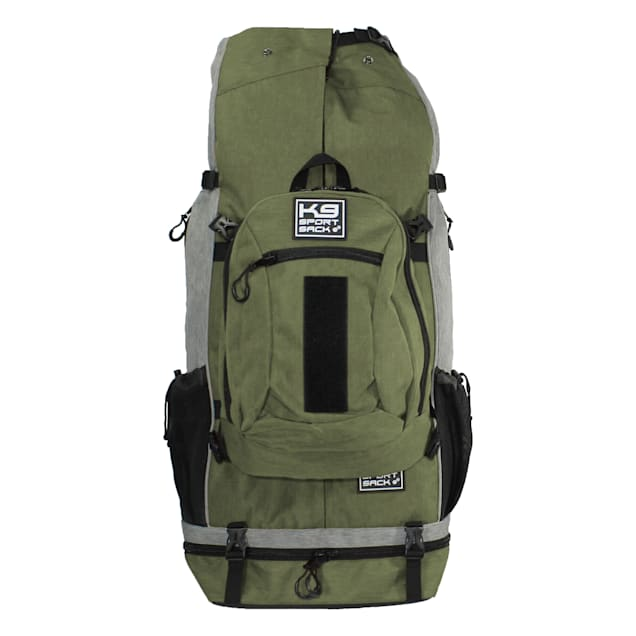 """K9 Sport Sack Air Rover Green Backpack Pet Carrier For Dogs, 14"""" L X 11"""" W X 28"""" H - Carousel image #1"""