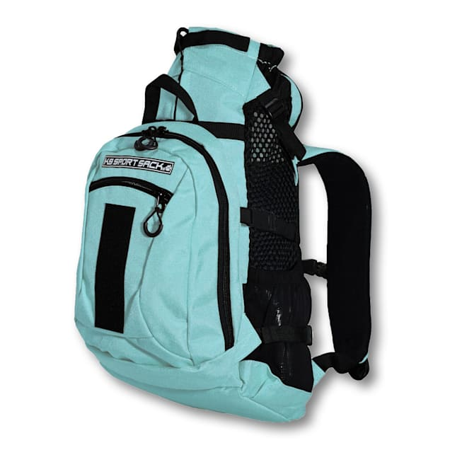 """K9 Sport Sack Air Plus Green Backpack Pet Carrier With Storage, 10"""" L X 9"""" W X 17"""" H - Carousel image #1"""
