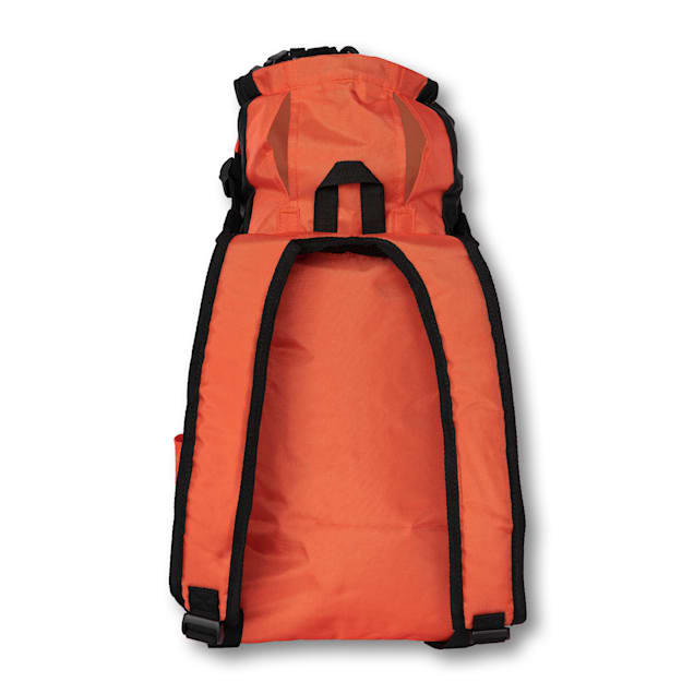 "K9 Sport Sack Air Trainer Orange Backpack Pet Carrier, 9"" L X 8"" W X 15"" H - Carousel image #1"