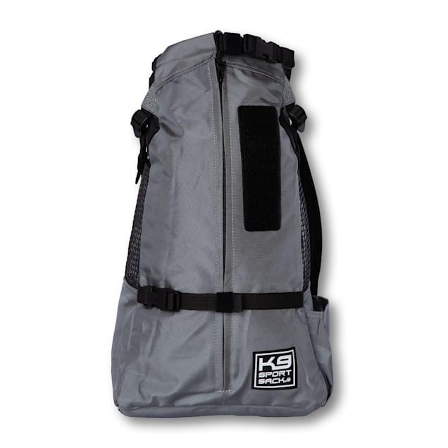 "K9 Sport Sack Air Trainer Black Backpack Pet Carrier, 9"" L X 8"" W X 15"" H - Carousel image #1"
