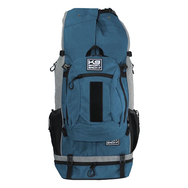 """K9 Sport Sack Air Rover Blue Backpack Pet Carrier For Dogs, 14"""" L X 11"""" W X 28"""" H - Carousel image #1"""