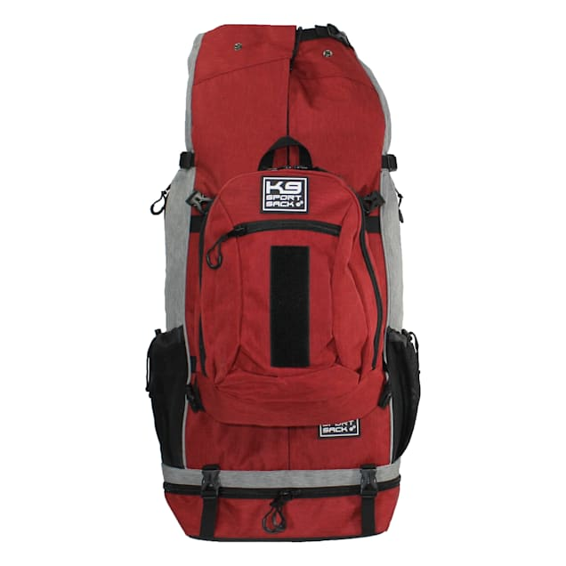 """K9 Sport Sack Air Rover Red Backpack Pet Carrier For Dogs, 14"""" L X 11"""" W X 28"""" H - Carousel image #1"""