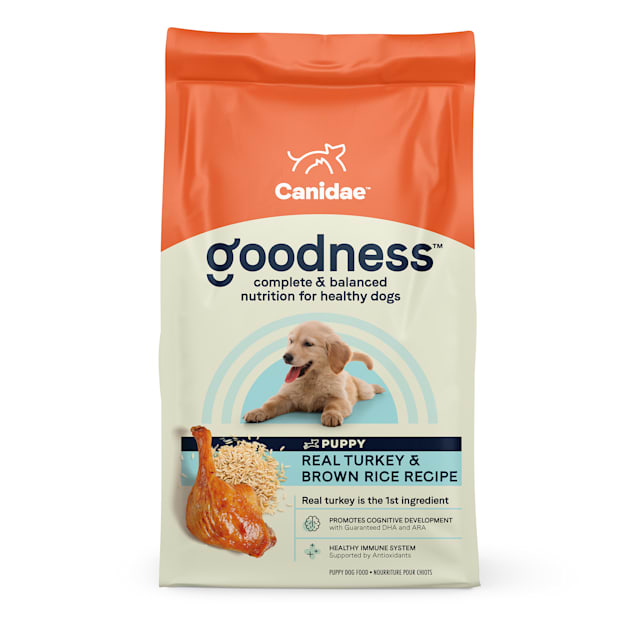 Canidae Goodness Turkey & Brown Rice Dry Puppy Food, 25 lbs. - Carousel image #1