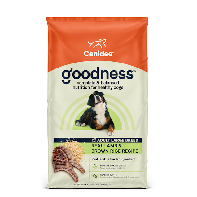 Canidae Goodness Adult Lamb & Brown Rice Large Breed Dry Dog Food, 25 lbs. - Carousel image #1