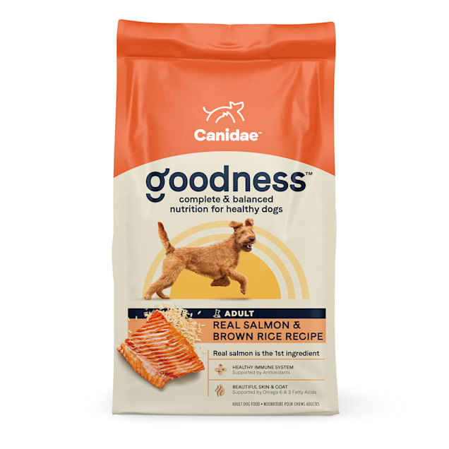 CANIDAE Adult Salmon & Brown Rice Dry Dog Food, 25 lbs. - Carousel image #1