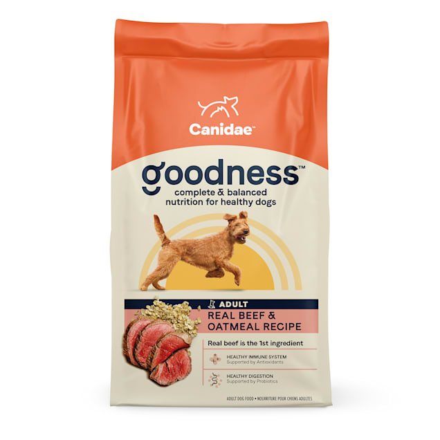 Canidae Goodness Adult Beef & Oatmeal Dry Dog Food, 25 lbs. - Carousel image #1