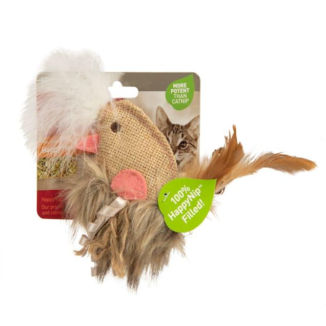 Petlinks HappyNip Happy Hen 100% Catnip Filled Cat Toy, Small - Carousel image #1