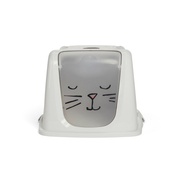 So Phresh Look At Meow Cat Litter Box Privacy Hood, Large - Carousel image #1