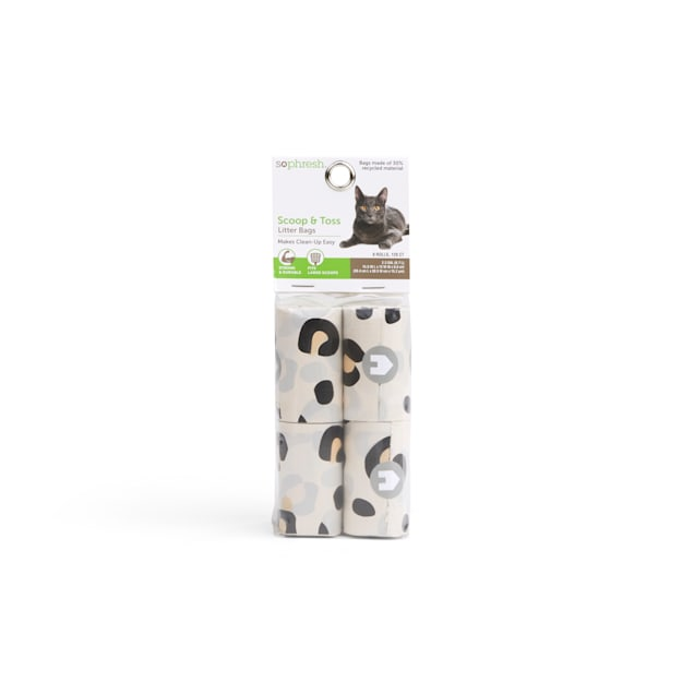 So Phresh Scoop & Toss Cat Litter Bags, Count of 120 - Carousel image #1
