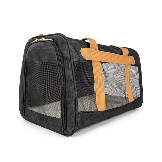 """Sherpa Travel Element Black and Tan Pet Carrier, 19"""" L X 11.75"""" W X 11.75"""" H - Carousel image #1"""