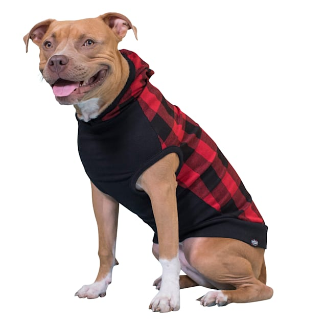 Long Dog Clothing Co. The Lumberjack Dog Hoodie, Large - Carousel image #1