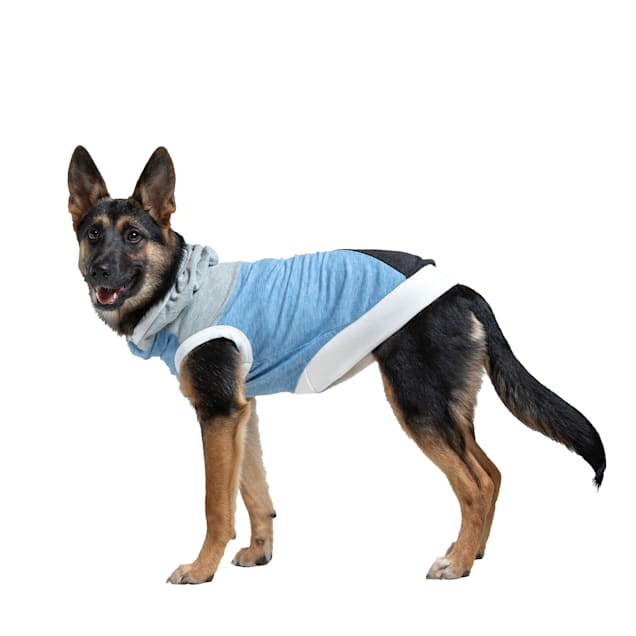 Long Dog Clothing Co. The Skater II Sleeveless Lightweight Hoodie Dog Shirt, X-Small - Carousel image #1