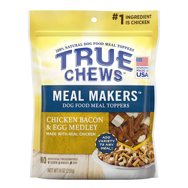 True Chews Meal Makers Chicken Bacon and Egg Medley Dog Treat, 9 oz. - Carousel image #1