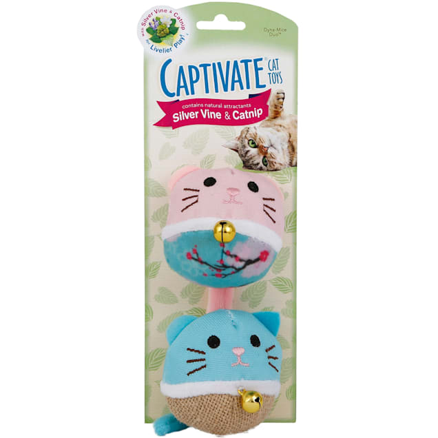 Captivate Dynamice Duo Cat Toys by Hartz - Carousel image #1