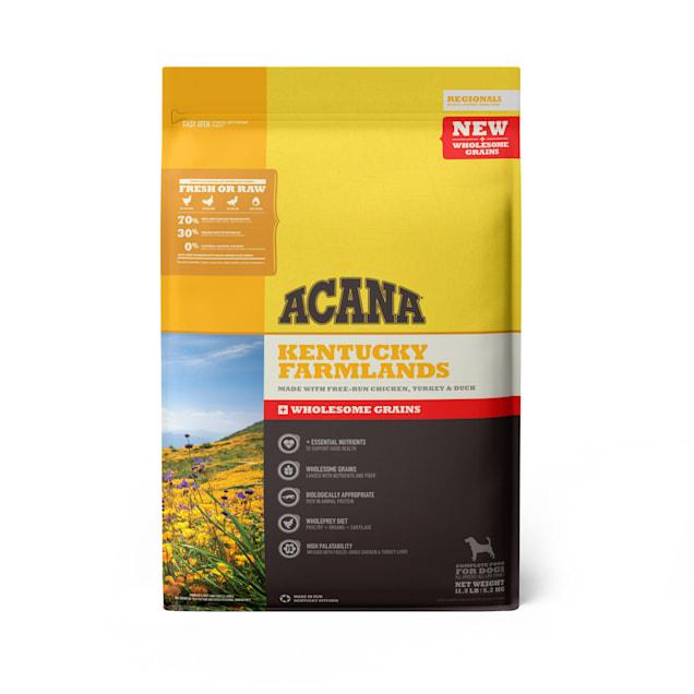 ACANA Regionals Wholesome Grains Kentucky Farmlands Dry Dog Food, 11.5 lbs. - Carousel image #1