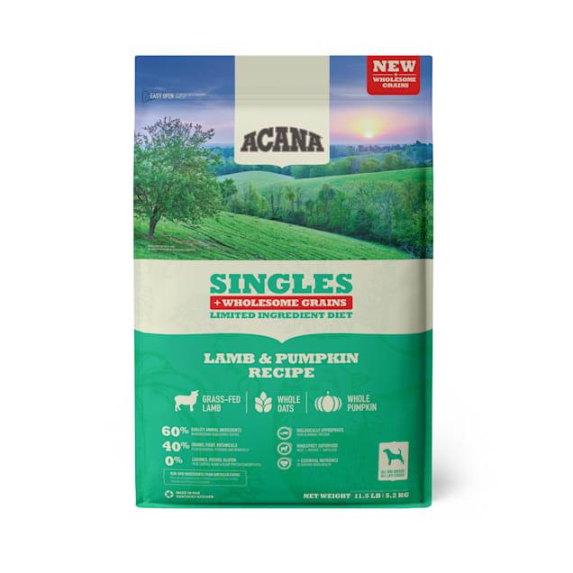 ACANA Singles Wholesome Grains Lamb & Pumpkin Dry Dog Food, 11.5 lbs. - Carousel image #1