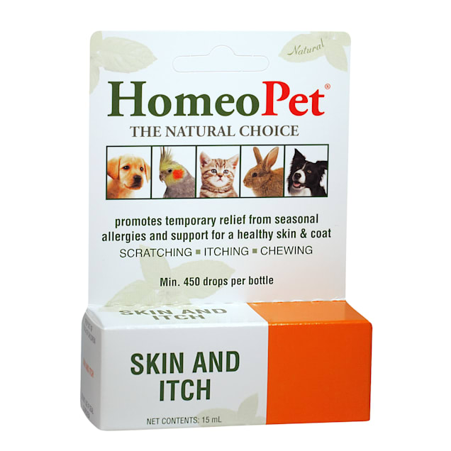 HomeoPet Skin & Itch Relief for Pets, 0.507 oz. - Carousel image #1