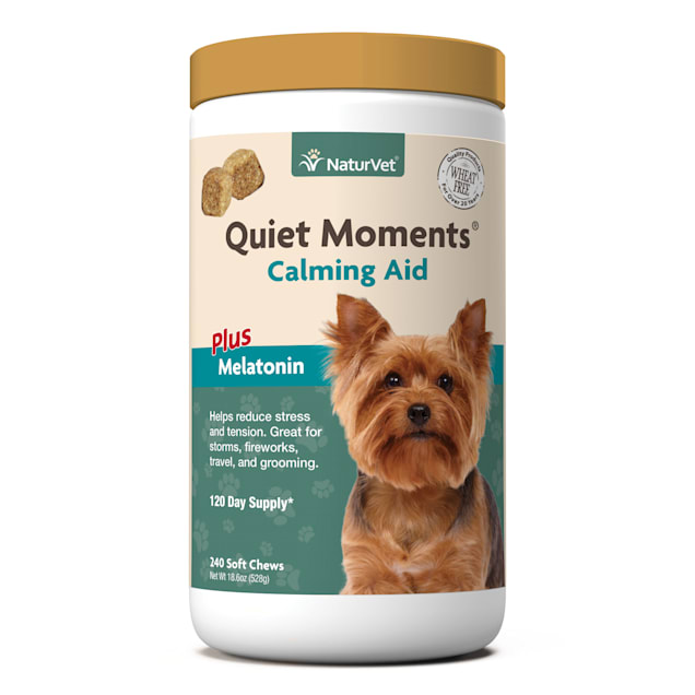 NaturVet Quiet Moments Calming Dog Soft Chew, 18.6 oz., Count of 240 - Carousel image #1