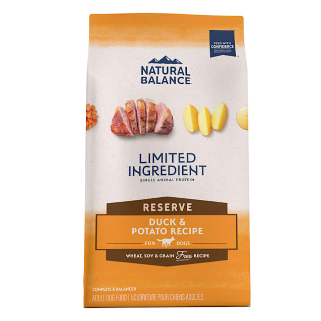 Natural Balance L.I.D. Limited Ingredient Diets Duck & Potato Formula Dry Dog Food, 24 lbs. - Carousel image #1